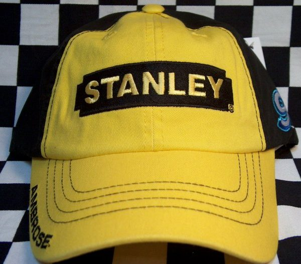 Marcos Ambrose #9 Stanley Tools Black-Yellow Pit Cap