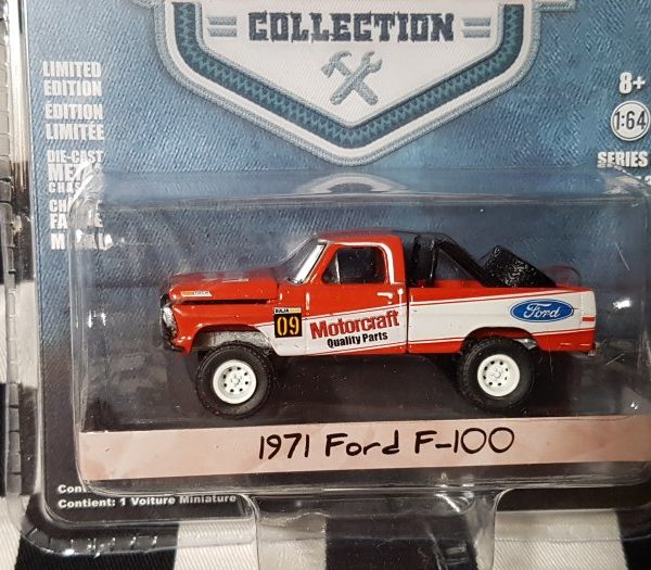 GL35080D – 1971 Motorcraft Quality Parts 1:64th Red Ford F-100