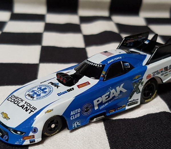 AJF1865PHJF – 2018 John Force Peak 1:64th Chevrolet Camaro NHRA Funny Car