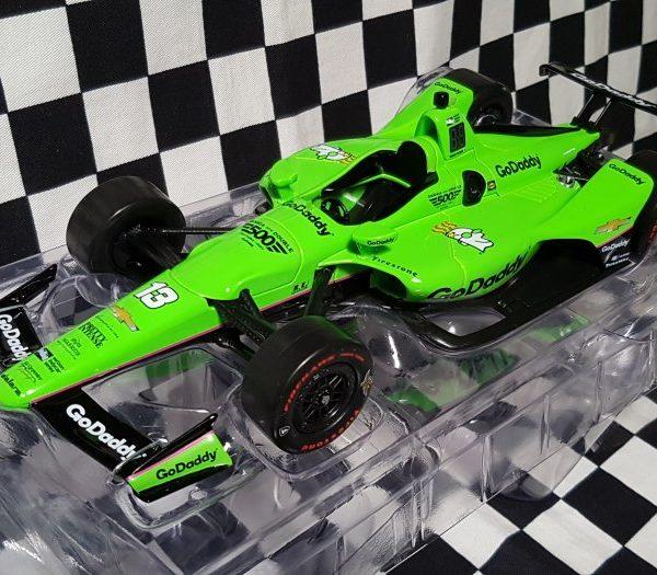 GL11044 – 2018 Danica Patrick #13 GoDaddy 1:24th IndyCar