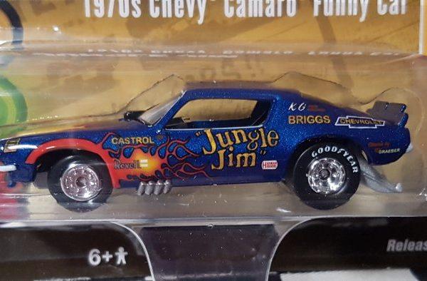 "RCSP006 – 1970 Jim Liberman ""Jungle Jim"" Flames 1:64th Chevrolet Camaro Funny Car"