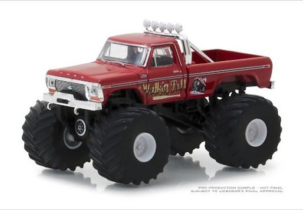 GL49020E – 1979 Ford F-250 Walking Tall 1:64th Monster Truck
