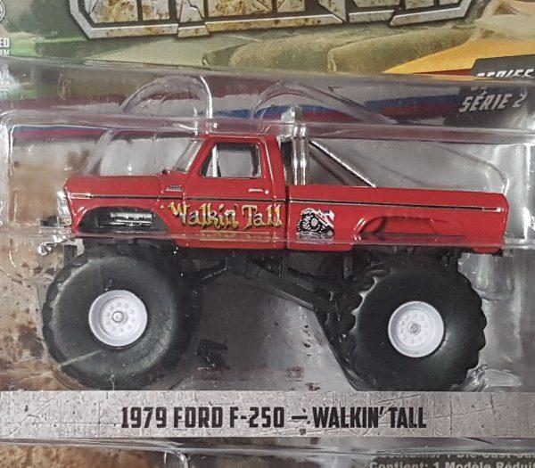 GL49020E – 1979 Ford F-250 Walking Tall 1:64th Monster Truck