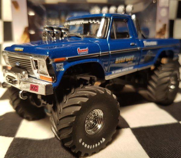 "GL86097 – 1974 Ford F-250 Bigfoot ""Original"" 1:43rd Monster Truck"