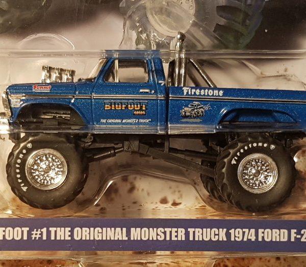 "GL29934 – 1974 Bigfoot #1 ""The Original"" 1:64th Ford F-250 Monster Truck"