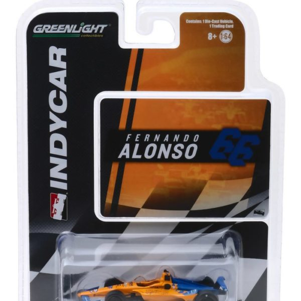 GL10845-64 – 2019 Fernando Alonso #66 McLaren Racing Dell Technologies1:64th Honda IndyCar