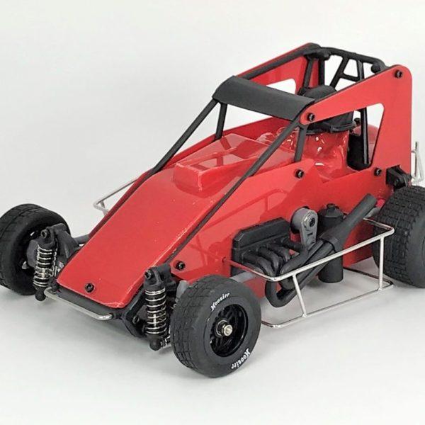 1RC1030 – Red 1:18th (Version 2.0) Speedcar