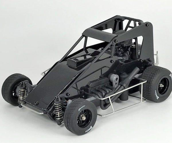 1RC1031 – Black 1:18th (Version 2.0) Speedcar