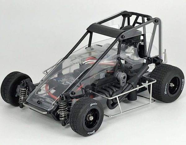 1RC1032 – Clear 1:18th (Version 2.0) Speedcar