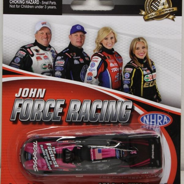 ACF3865BACF – 2013 Courtney Force Traxxas Pink 1:64th Ford Mustang NHRA Funny Car