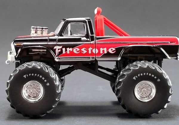 GL51272 – 1974 Ford F-250 Firestone 1:64th Monster Truck