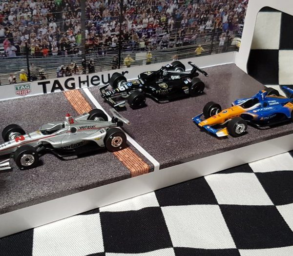GL10828 – 2018 Indianapolis 500 1:64th Top Three Finishers Set