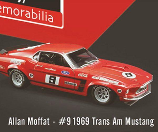 DDA16400-A – Allan Moffat #9 1969 1:64th  Boss 302 Trans Am Ford Mustang