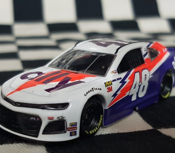 C481965AEJJ – 2019 Jimmie Johnson Ally Financial Darlington Throwback 1:64th ZL1 Chevrolet Camaro