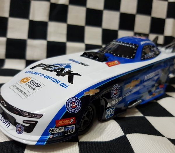 AW-CP7647 – 2019 John Force 2019 U.S. Nationals Paint Scheme 1:24th Chevrolet Camaro NHRA Funny Car