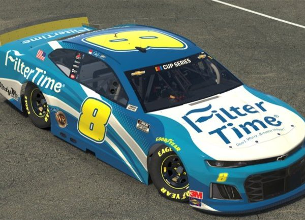 FX82065FREJ – 2020 Dale Earnhardt Jr Filter Time iRacing 1:64th Chevrolet Camaro