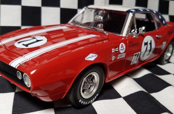 A1805712 – 1967 Joie Chitwood #71 1:18th Chevrolet Camaro – 1968 Daytona 24 Hours