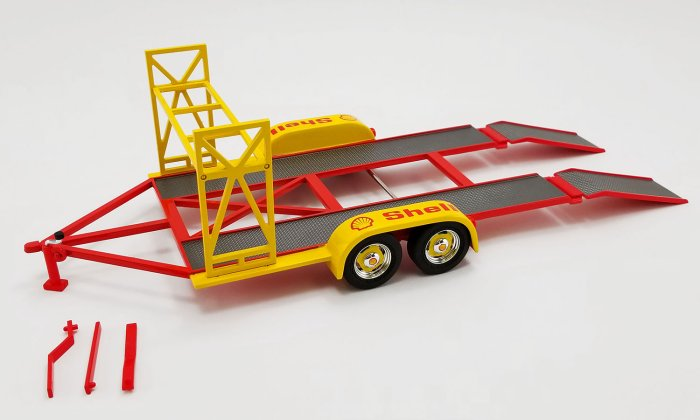 Shell Oil Trailer