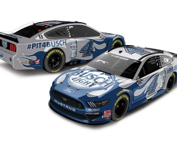 CX42023BYKH – 2020 Kevin Harvick Busch Light #PIT4BUSCH 1:24th Ford Mustang
