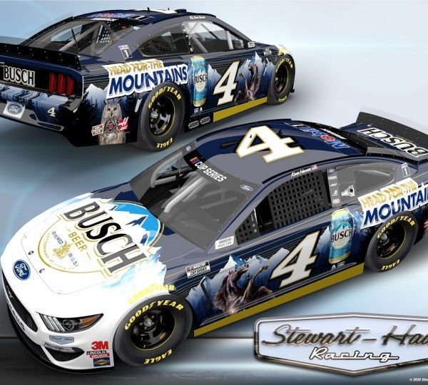 CX42023JMKH – 2020 Kevin Harvick Head for the Mountains 1:24th Ford Mustang