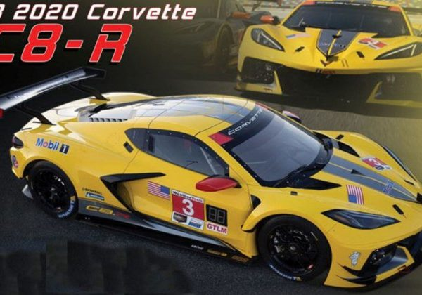 US-032 – 2020 Chevrolet #3  1:18th Corvette C8-R